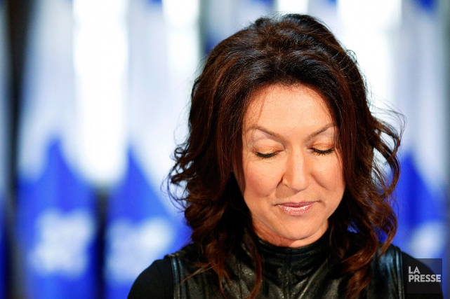 L'ex-ministre libérale Nathalie Normandeau, lors de sa démission... (Photo Mathieu Belanger, archives Reuters)