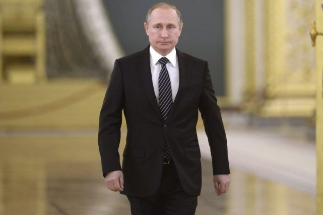 Vladimir Poutine... (Photo Alexei Nikolsky, Associated Press)