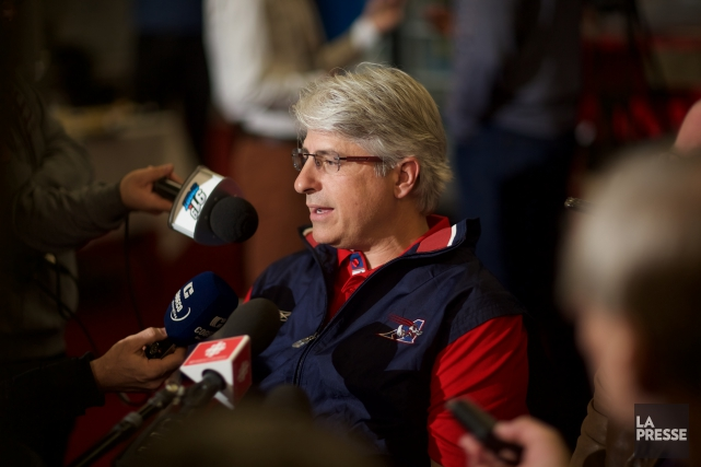 Le grand patron des Alouettes, Jim Popp, a... (Photo André Pichette, La Presse)