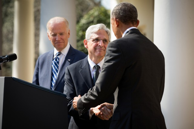 Merrick Garland, ex-procureur qui a géré le dossier... (Photo Doug Mills, The New York Times)