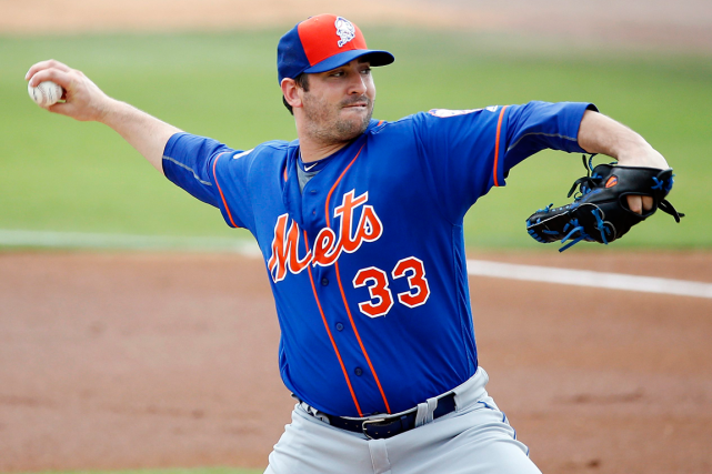 Matt Harvey... (Photo Brynn Anderson, AP)