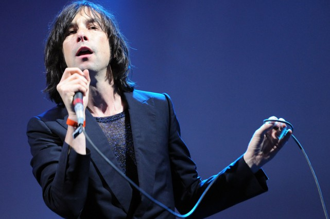 Bobby Gillespie de Primal Scream.... (PHOTO ARCHIVES AFP)