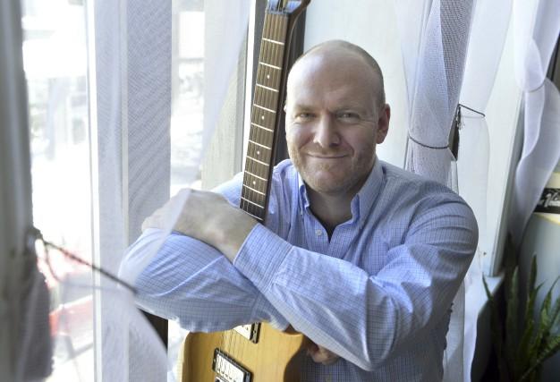 Sylvain Picard est compositeur et guitariste jazz.... (Spectre Média, Maxime Picard)