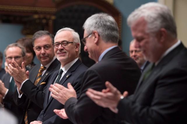 Le ministre des Finances, Carlos Leitão, qui a... (La Presse Canadienne, Jacques Boissinot)