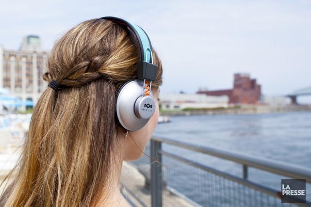 La plate-forme de diffusion de musique en ligne Spotify s'est entendu avec... (PHOTO SARAH MONGEAU-BIRKETT, archives LA PRESSE)