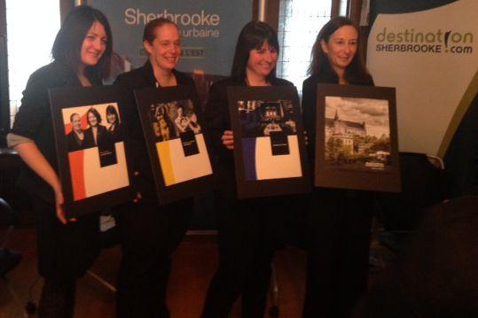 Destination Sherbrooke a dévoilé jeudi matin le nouveau... (Photo fournie)