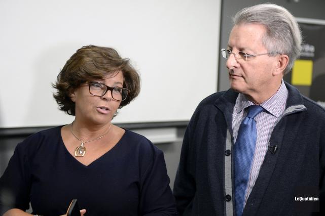 Le maire Jean Tremblay a fait le tour... (Photo Le Quotidien, Jeannot Lévesque)
