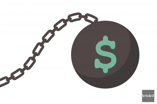 Pour une septième année de suite, le remboursement des dettes est la principale... (Infographie Le Soleil)