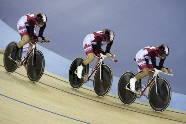 Les promoteurs du projet de vélodrome à Gatineau... (Archives, La Presse Canadienne)