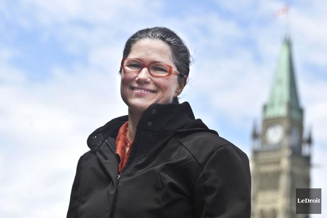 La présidente de l'ACEP, Emmanuelle Tremblay... (Martin Roy, Archives LeDroit)