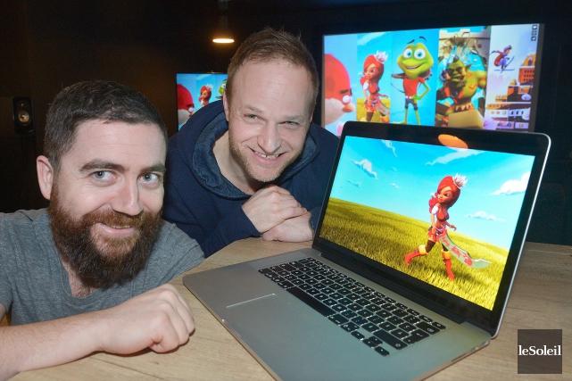 Squeeze Studio Animation, lancée en 2011 par Patrick... (Photothèque Le Soleil, Jean-Marie Villeneuve)