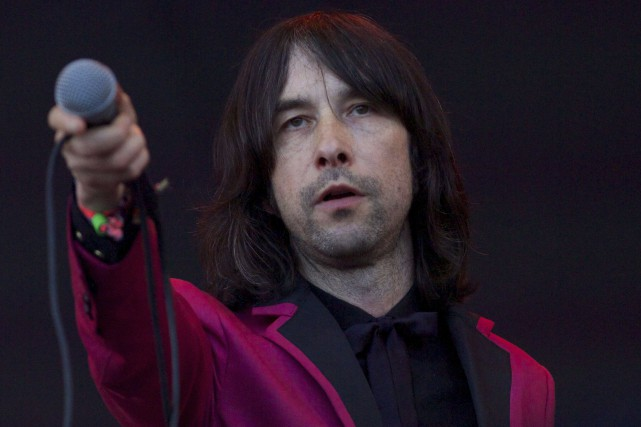 Bobby Gillespie de Primal Scream. Le 11e album, Chaosmosis, paraît vendredi.... (AFP, Andrew Come)
