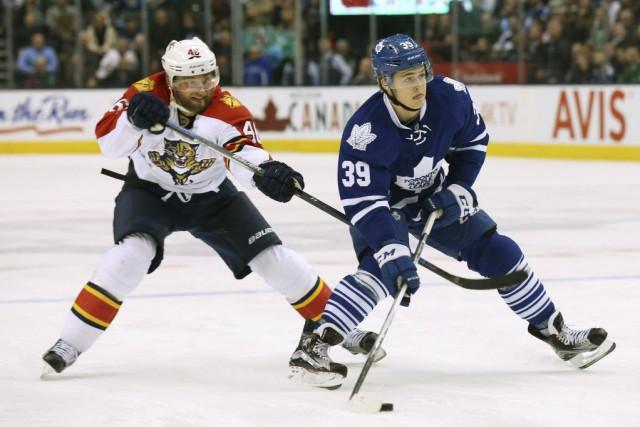 Jussi Jokinen a marqué deux buts chanceux alors que les Panthers de la Floride... (Photo Peter Power, PC)