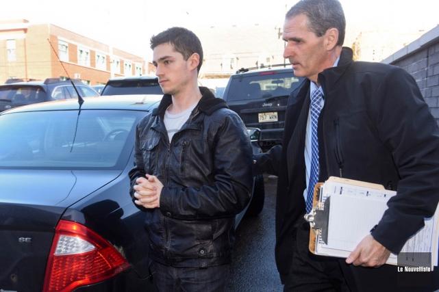 Mike Olivier a été arrêté mercredi matin.... (François Gervais, Le Nouvelliste)