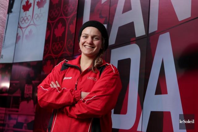Ariane Fortin poursuivait son rêve olympique depuis 2009,... (Photothèque Le Soleil)