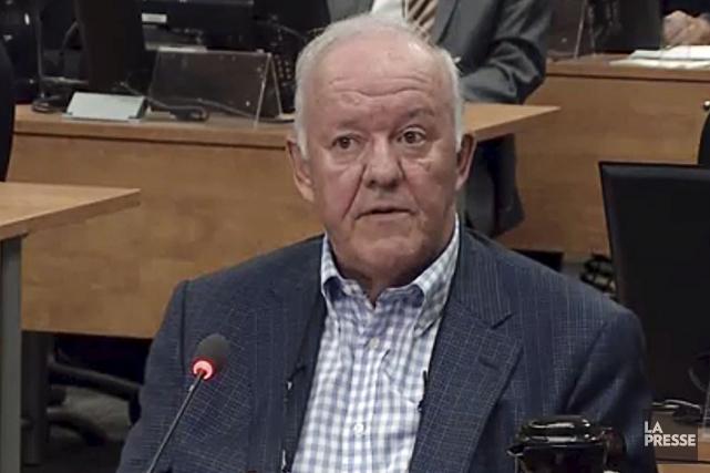 L'ancien ministre libéral Marc-Yvan Côté avait comparu devant... (Archives La Presse)