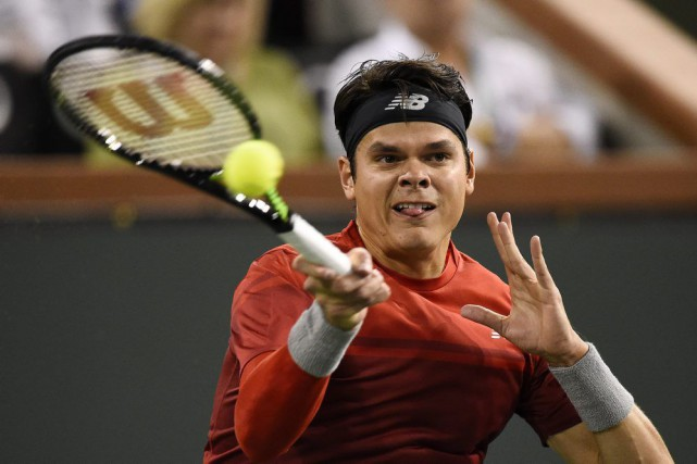 Milos Raonic... (PHOTO MARK J. TERRILL, AP)