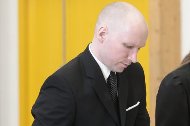 Anders Behring Breivik... (Photo Lise Aserud, Associated Press)