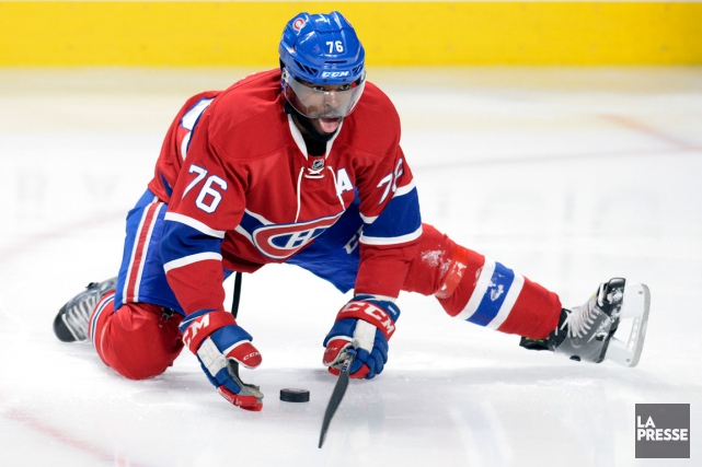 P.K. Subban... (Photo Bernard Brault, archives La Presse)