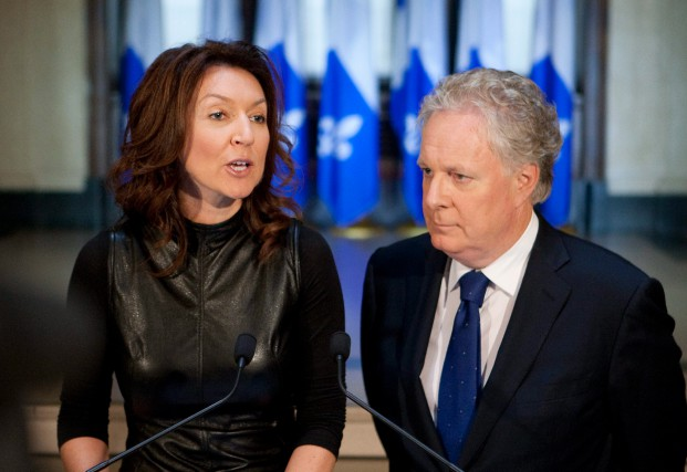 Nathalie Normandeau, ancienne ministre libérale, se trouve accusée... (PHOTO ARCHIVES LA PRESSE CANADIENNE)