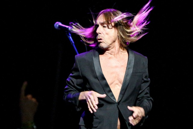 Iggy Pop... (PHOTO ARCHIVES AP)