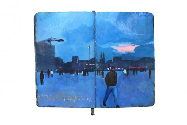 L'artiste peintre Missy H. Dunaway utilise les pinceaux,... (PHOTO TIRÉE DU COMPTE INSTAGRAM DE MISSY H. DUNAWAY)