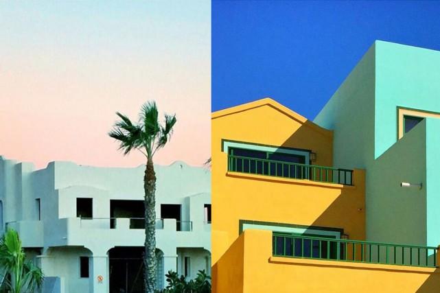 L'univers aux couleurs acidulées de l'architecte suédoise Tekla Evelina Severin... (PHOTOS TIRÉES DU COMPTE INSTAGRAM DE TEKLA EVELINA SEVERIN)