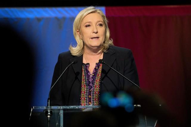 Marine Le Pen... (AFP, DENIS CHARLET)