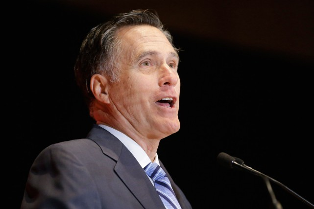 Mitt Romney, ex-candidat présidentiel.... (photo rick bowmner, archives associated press)