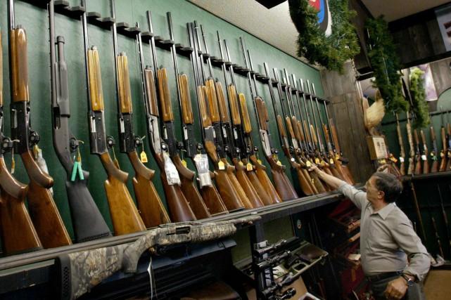 L'enregistrement des armes à feu permet de sauver... (Archives La Presse Canadienne)