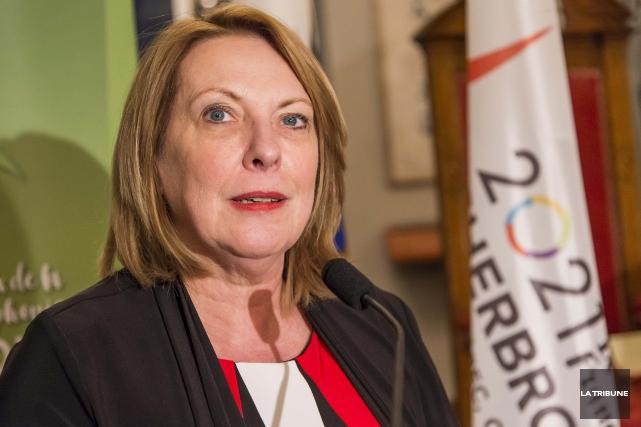 Christine St-Pierre, ministre des Relations internationales et de... (Archives, La Tribune)