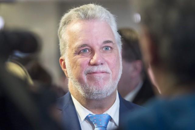 Le premier ministre du Québec, Philippe Couillard... (Ryan Remiorz, La Presse Canadienne)