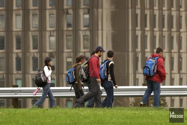 Les cégeps et les universités éprouvent aussi des... (Archives La Presse)