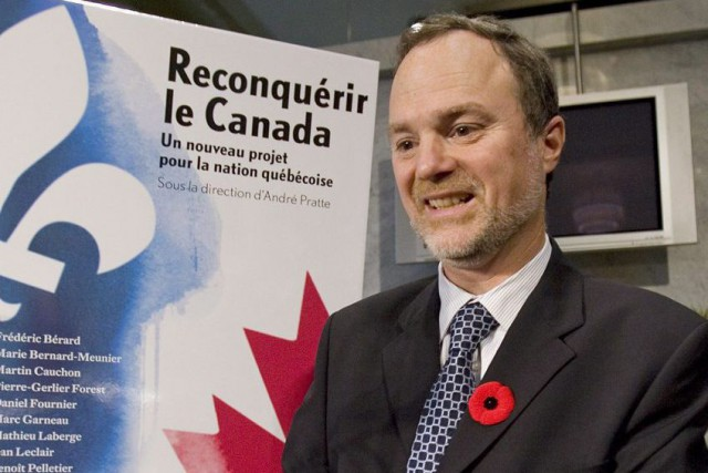 André Pratte... (La Presse Canadienne, Ryan Remiorz)