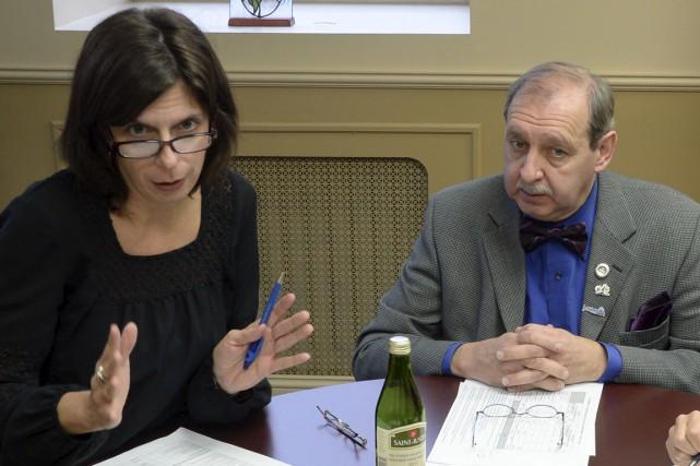 Sonia Desaulniers, directrice générale de la Ville de... (Sylvain Mayer)