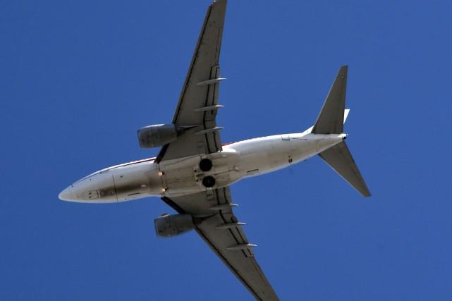 L'appareil était un Boeing 737 similaire à celui-ci.... (Photo archives AFP)