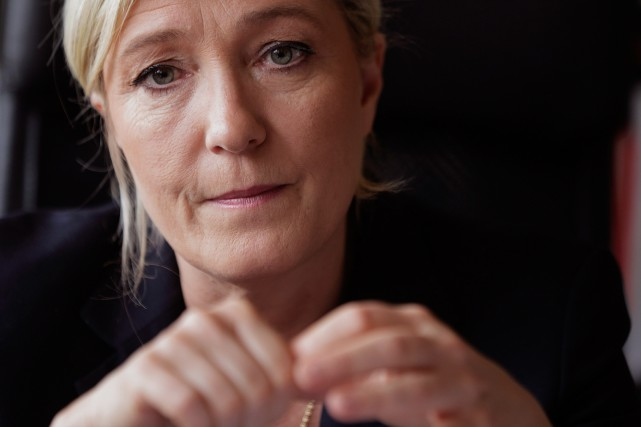 Marine Le Pen, chef du Front national.... (PHOTO PHILIPPE WOJAZER, ARCHIVES REUTERS)