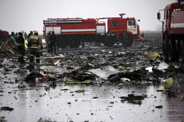 L'écrasement de vendredi constituel'accident mortel le plus grave... (AFP)