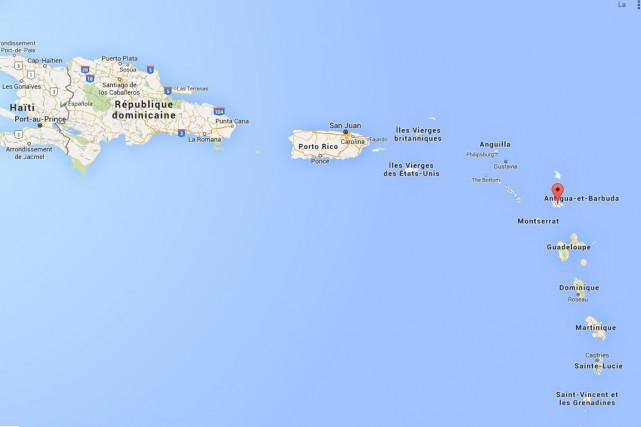 Un séisme de magnitude 6,0, de faible profondeur, a frappé samedi les cotes... (Image Google Maps)