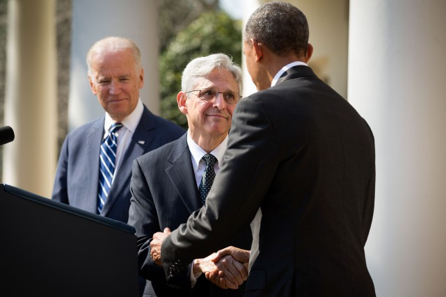 Barack Obama souhaite nommer Merrick Garland à la Cour... (Photo Doug Mills, Archives The New York Times)