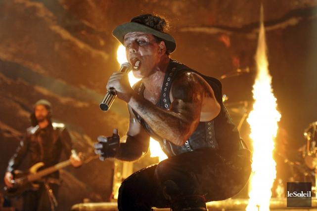 On apprenait un peu plus tôt cette semaine que Rammstein reviendra au Festival... (Le Soleil, Erick Labbé)