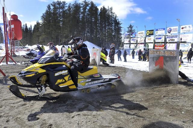 La septième édition du Daytona neige avait lieu... (Photo Le Progrès-Dimanche, Rocket Lavoie)