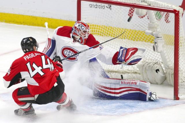 La filière francophone des Sénateurs d'Ottawa s'est chargée des Canadiens de... (Photo USA Today Sports)
