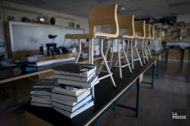 Avec les années, les différents acteurs scolaires se... (Archives La Presse Canadienne)