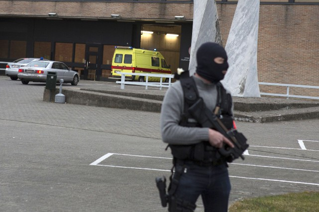 Salah Abdeslam est arrivé au pénitencier fédéral de... (AP, Geoffroy Van der Hasselt)
