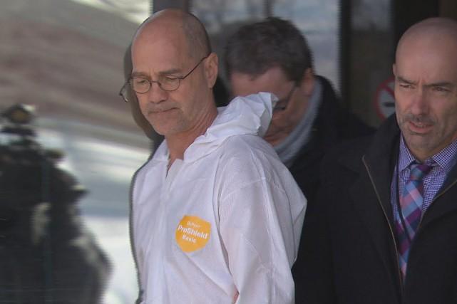 Luc Hamel est accusé du meurtre au premier... (Photo courtoisie, Radio-Canada Saguenay-Lac-Saint-Jean)