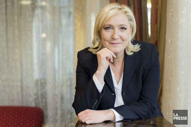 Marine Le Pen a sollicité une rencontre avec... (La Presse, Édouard Plante-Fréchette)