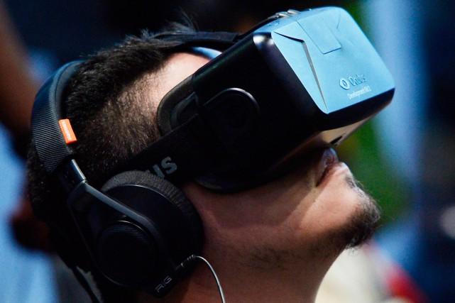 Pionnier du domaine, le casque Rift d'Oculus sera... (PHOTO KEVORK DJANSEZIAN, ARCHIVES REUTERS)