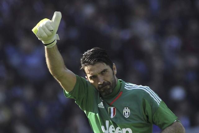 Le gardien de la Juventus de Turin n'a... (PHOTO GIORGIO PEROTTINO, REUTERS)