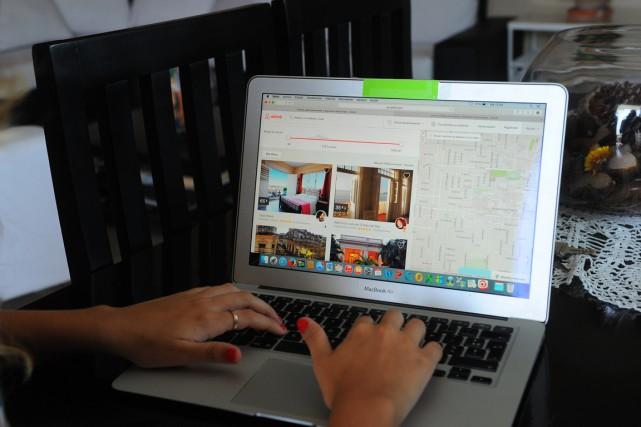 Il y a un an, Airbnbavait obtenu le... (ARCHIVES AFP)